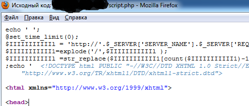 PHP script deobfuscation for dummies – Misc